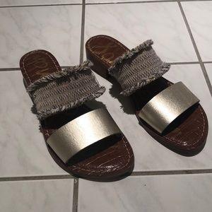 Barely worn Sam Edelman Fringe Sandals